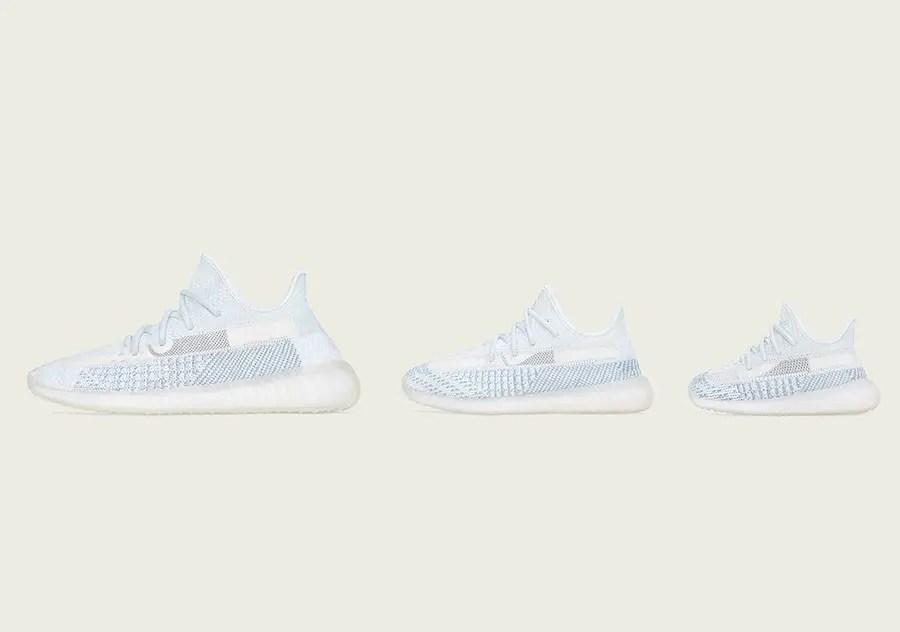 adidas Yeezy Boost 350 V2 Cloud White (アディダス イージー ブースト 350 V2 クラウド ホワイト)