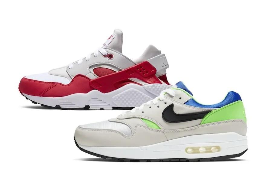 Nike Air Max 1 DNACH.1 & Air Huarache Run DNACH.1 (ナイキ エア マックス 1 DHACH.1 & エア ハラチ ラン DNACH.1)
