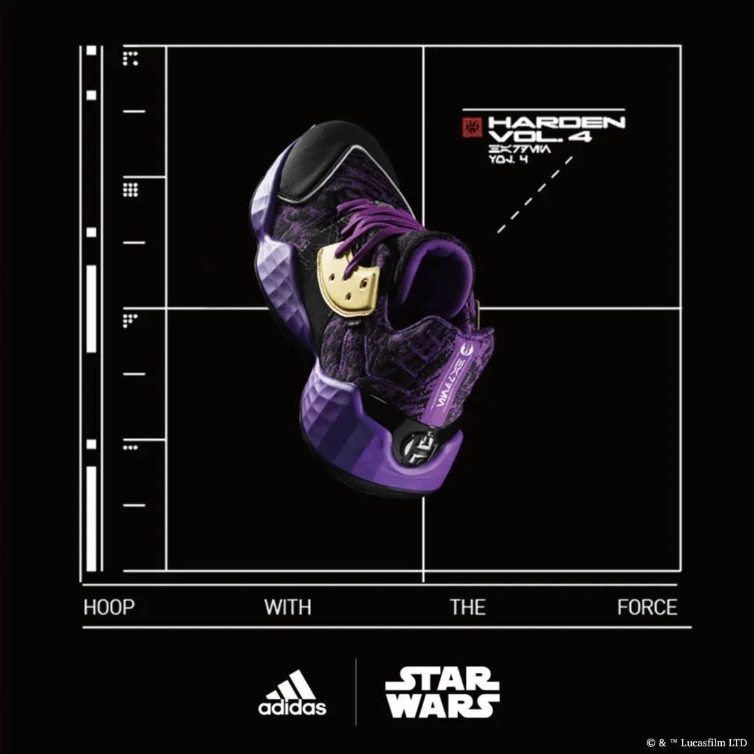 Star Wars x adidas Harden Vol.4 (スターウォーズ × アディダス ハーデン Vol.4)
