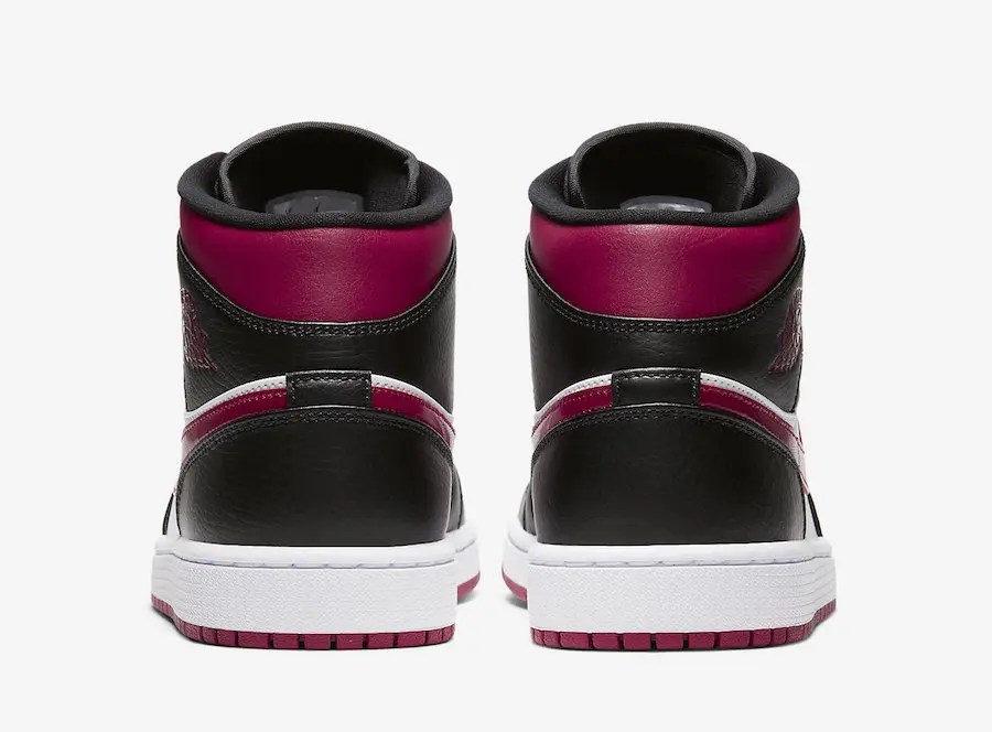 "Nike Air Jordan 1 Mid ""Bred Toe"" (ナイキ エア ジョーダン 1 ミッド ""ブレッド トゥ"")"