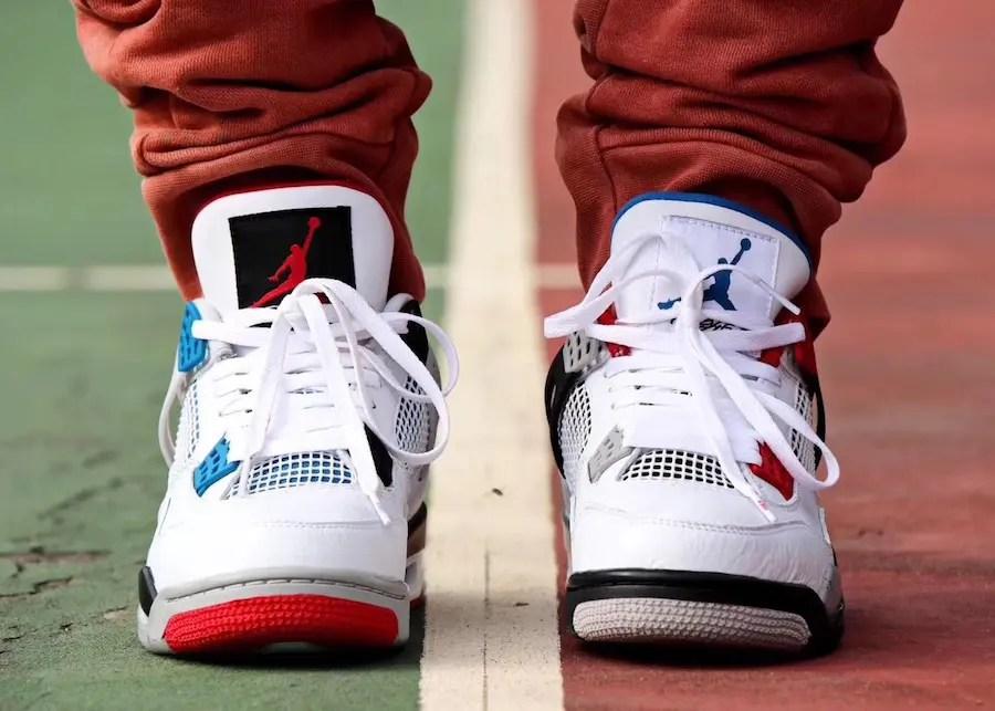 "Nike Air Jordan 4 ""WHAT THE"" (ナイキ エア ジョーダン 4 ""ワット ザ "")"