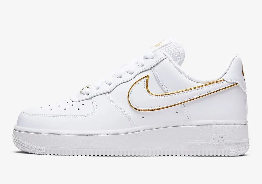 air force 1 low gold