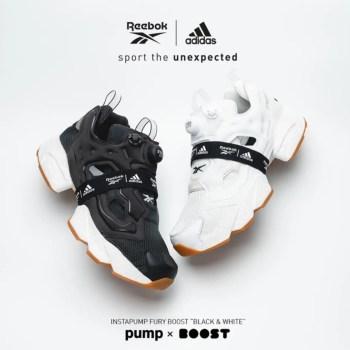 Reebok x adidas INSTAPUMP FURY BOOST Black&White-01