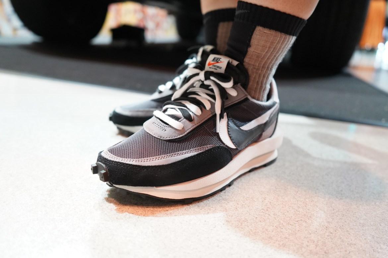 スニーカー女子 @アトモスコンvol.7 - Eriさん (Sacai x Nike LDWaffle Black by Eri san at atmos con vol.7)