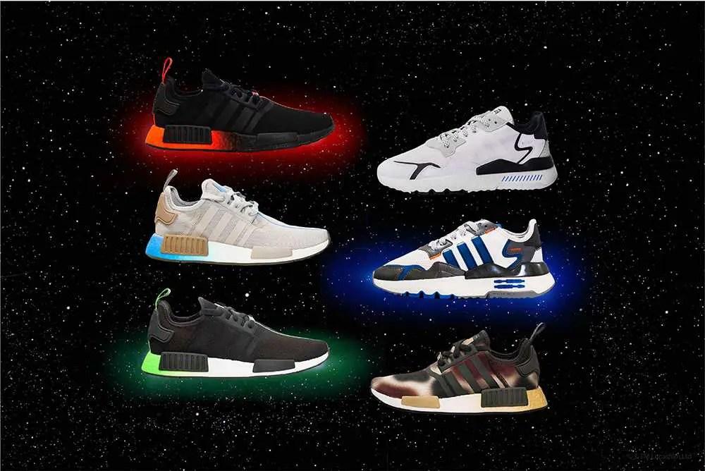 12/2, 12/17 : スターウォーズとアディダスのコラボ!スニーカー6種類で登場(Star Wars x Adidas Characters Pack)