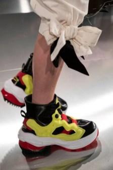 Maison Margiela × Reebok INSTAPUMP FURY メゾン・マルジェラ × リーボック インスタポンプフューリー wearing volt pair
