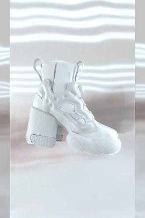 Maison Margiela x Reebok Tabi Instapump Fury メゾン マルジェラ リーボック コラボ 足袋 インスタポンプフューリー ハイヒール white