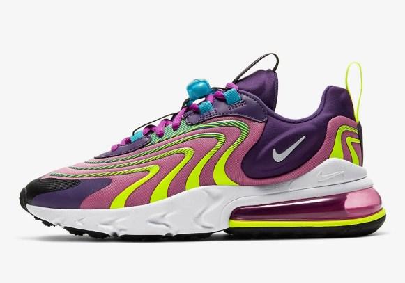 Nike Air Max 270 React (ナイキ エア マックス 270 リアクト) CD0113-400, CK2595-500, CD0113-001