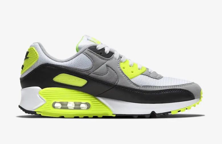 "Nike Air Max 90 ""Turquoise"" (ナイキ エア マックス 90 ""ターコイズ"") CD0490-101, CD0881-103, CD0490-104"