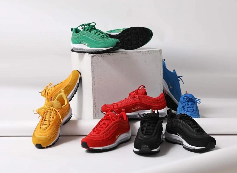 Nike Air Max 97 QS (ナイキ エア マックス 97 QS) CI3708-001, CI3708-300, CI3708-400, CI3708-600, CI3708-700