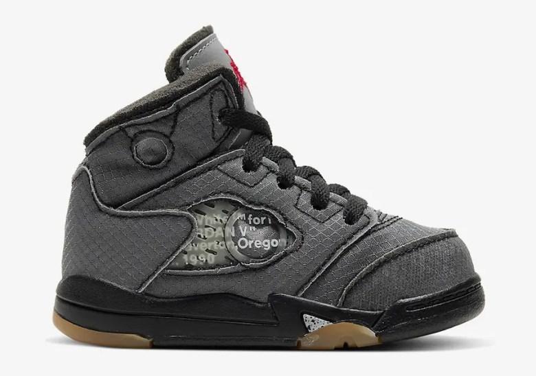 Off White × Nike Air Jordan 5 (オフホワイト × ナイキ エア ジョーダン 5) CT8480-001, CT8480-100