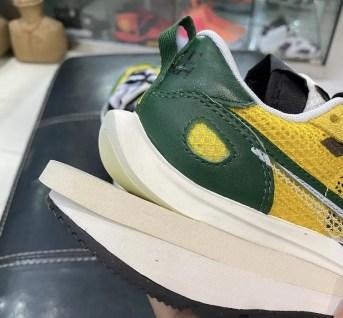 サカイ ナイキ コラボ ヴェイパーワッフル Tour Yellow/Stadium Green-Sail Sacai Nike VaporWaffle CV1363-700 DD3035-200