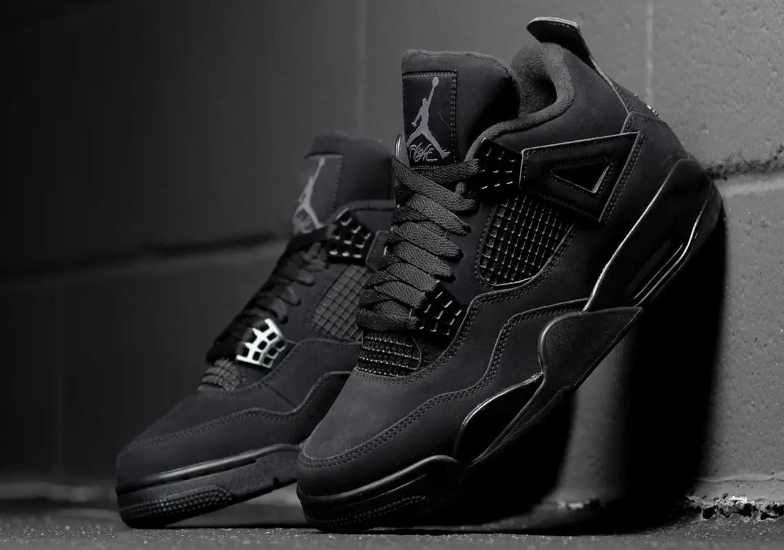 """Nike Air Jordan 4 """"Black Cat"""" (ナイキ エア ジョーダン 4 """"ブラック キャット"""") CU1110-010"""