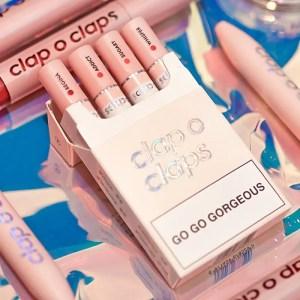 Clap o Claps Chinese Cosmetics Cigarette Lipstick タバコ シガレット リップ 口紅 中国 コスメ