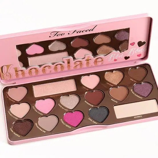 HOJO Heart Chocolate Eyeshadow Palette Too Faced ホージョー ハート アイシャドウ パレット トゥーフェイスド