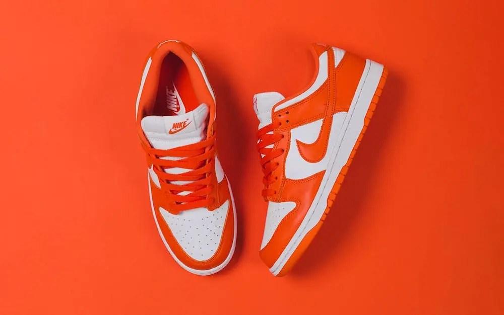 "Nike Dunk Low ""Syracuse"" (ナイキ ダンク ロー ""シラキュース"") CU1726-101"