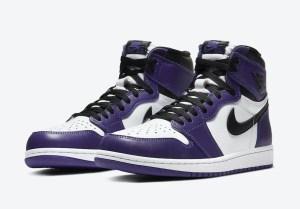 "Nike Air Jordan 1 High OG ""Court Purple"" ナイキ エア ジョーダン 1 ハイ OG ""コート パープル"" 555088-500"