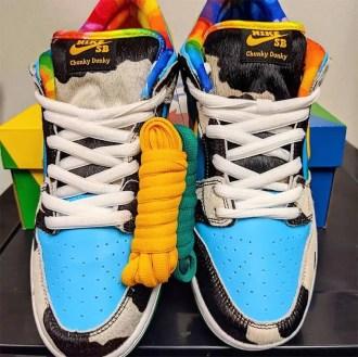 "Ben & Jerry's × Nike SB Dunk Low ""Chunky Dunky"" (ベン & ジェリーズ × ナイキ SB ダンク ロー ""チャンキー ダンキー"")"