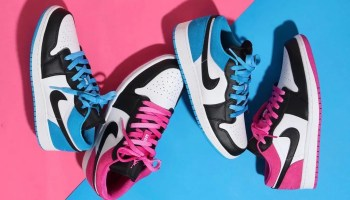 Nike Air Jordan 1 Low Laser_Blue_Magenda