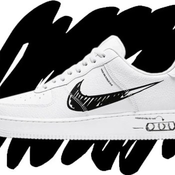 Nike Air Force 1 Sketch-01