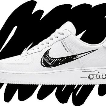 Nike Air Force 1 Sketch-01