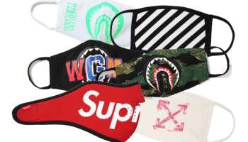 Off White Supreme Bape Fashion Mask