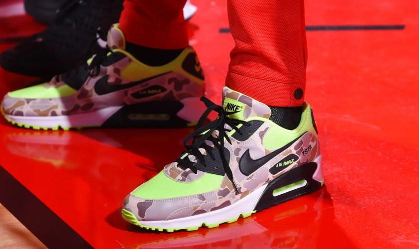 Nike Air Max 90 Dunk Camo Volt Ghost Green CW4039-300-01