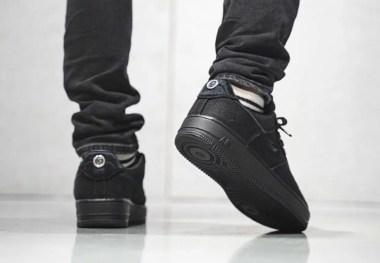 Stussy Nike Air Force 1 Low Black CZ9084-001 ステューシー ナイキ エア フォース 1 ブラック back