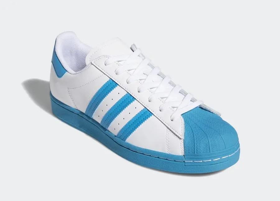 "adidas Superstar ""Bold Aqua"" (アディダス スーパースター ""ボールド アクア"") FY2756"