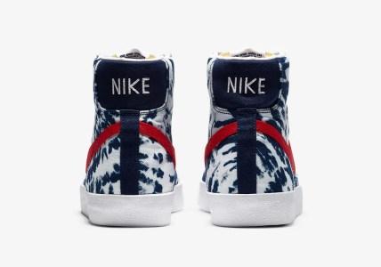 "Nike Blazer Mid ""Tie Dye""】ナイキ ブレーザー ミッド ""タイダイ"" CZ7874-600"