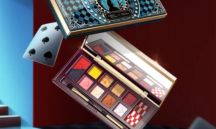 ZEESEA x The British Museum Alice in Wonderland Eyeshadow Palette-06