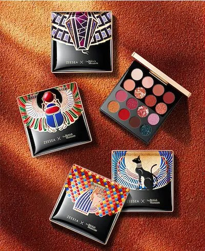 ZEESEA x The British Museum Eye Shadow Palette 16 colors-10