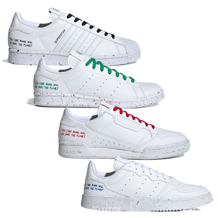 adidas Originals Vegan Pack (アディダス オリジナルス ヴィーガン パック) Superstar, Stan Smith, Supercourt, Continental 80