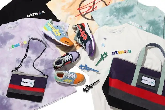【Sean Wotherspoon × ASICS × atmos collection】ショーン・ウェザースプーン × アシックス × アトモス コレクション