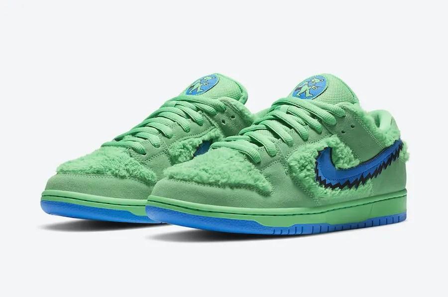 GRATEFUL DEAD BEARS × Nike SB Dunk Low (グレイトフル デッド ベアーズ × ナイキ SB ダンク ロー) CJ5378-300, CJ5378-700, CJ5378-800