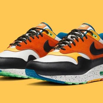 """Nike Air Max 1 """"Multi"""" (ナイキ エア マックス 1 """"マルチカラー"""") CZ8140-001"""