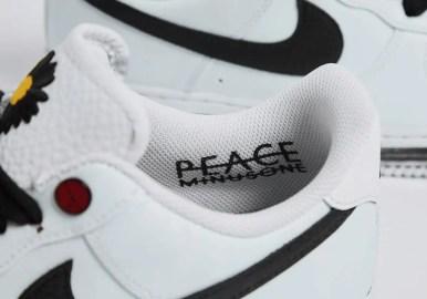 ピースマイナスワン ナイキ コラボ ジヨン エア フォース 1 PEACEMINUSONE Nike Air Force 1 Para Noise White DD3223-100