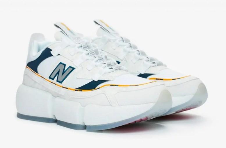 "Jaden Smith × New Balance Vision Racer ""White"" (ジェイデン スミス × ニューバランス ビジョン レーサー ""ホワイト"")"