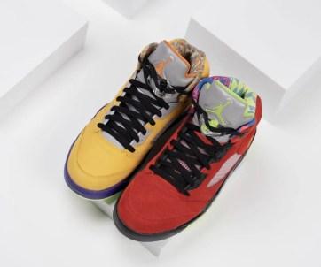 """Nike Air Jordan 5 """"What The"""" (ナイキ エア ジョーダン 5 """"ワット ザ"""") CZ5725-700"""
