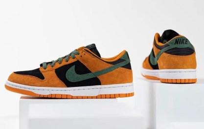 """Nike Dunk Low """"Ceramic"""" (ナイキ ダンク ロー """"セラミック"""") DA1469-001 pair back side"""