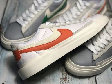 Sacai Nike Blazer Low サカイ ナイキ ブレーザー ロー orange side swoosh