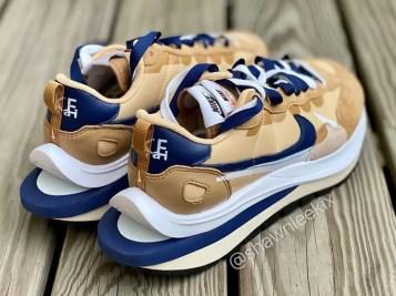 Sacai Nike VaporWaffle Sesame Blue サカイ ナイキ ヴェイパー ワッフル コラボ セサミ ブルー pair back