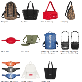 Supreme 2020fw collection bags-01