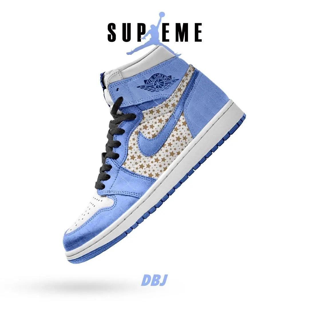 Supreme × Nike Air Jordan 1 (シュプリーム × ナイキ エア ジョーダン 1)