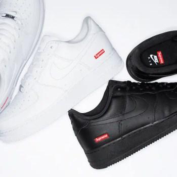 Supreme x Nike Air Force 1 Low White シュプリーム ナイキ エア フォース 1 コラボレーション