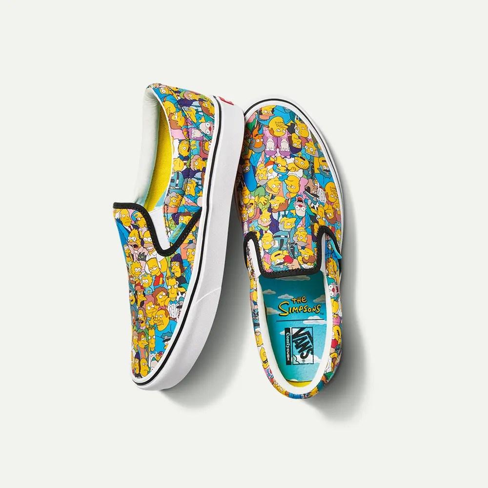 The Simpsons × Vans (シンプソンズ × バンズ コラボ コレクション)