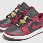 """Nike WMNS Air Jordan 1 Low """"Velvet Heels & Gold"""" ナイキ ウィメンズ エアジョーダン 1 ロー """"ヴェルベット ヒール & ゴールド"""""""