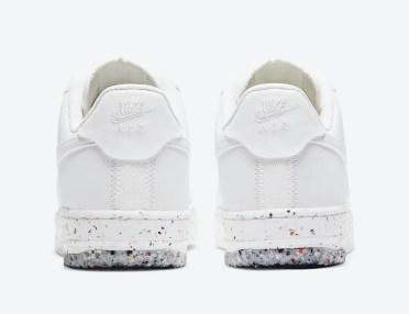 ナイキ エア フォース 1 クレーター フォーム サミット ホワイト CT1986-100 Nike Air Force 1 Crater Foam Summit White heel