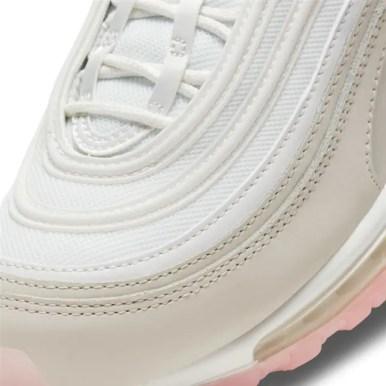 Nike Air Max 97 Summit White And Pink ナイキ エアマックス 97 サミット ホワイト アンド ピンク 100SUMMIT WHITE/MTLC SUMMIT WHT CT1904-100 close