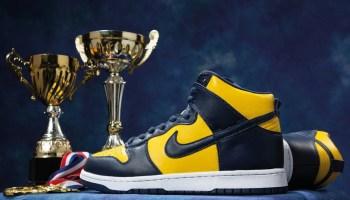 Nike Dunk High Michigan CZ8149-700-01
